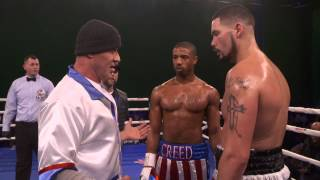 getlinkyoutube.com-Creed: Behind the Scenes Movie Broll - Michael B. Jordan, Ryan Coogler, Sylvester Stallone