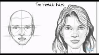 getlinkyoutube.com-Luyện thi vẽ - Hướng dẫn chi tiết vẽ khuôn mặt phụ nữ