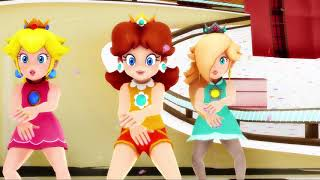 Candy Candy Candy MMD (Ultra Smash Peach, Daisy, and Rosalina)