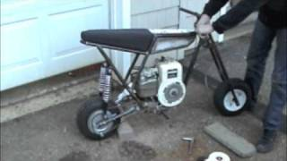 getlinkyoutube.com-Built from scratch mini bike