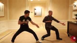 getlinkyoutube.com-Iko Uwais and Gareth Evans teach 'The Raid 2' fight choreography