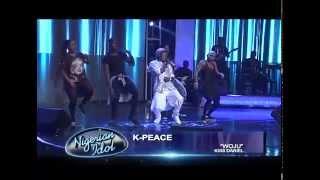 getlinkyoutube.com-K-peace performs woju at nigerian idol grand finale