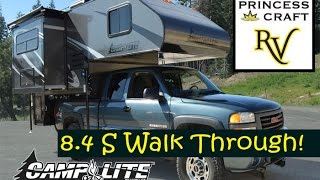 getlinkyoutube.com-2015 Camplite 8.4S Truck Camper at Princess Craft RV