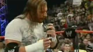 getlinkyoutube.com-Triple H makes Fun of Vince Mcmahon on RAW