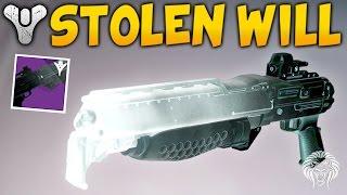 getlinkyoutube.com-Destiny: STOLEN WILL TAKEN SHOTGUN! How To Get & Weapon Review (April Update)