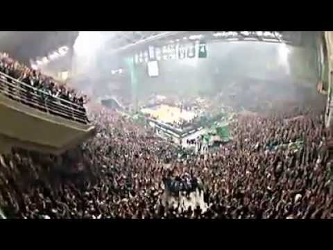 [N°3]:Panathinaikos vs Olympiakos.Supporteurs du Panathinaikos