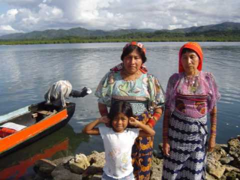 Molas Kunas San Blas Islands Panama