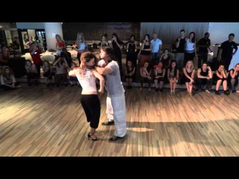 Mafie & Evelyn - zouk workshop - Prague Samba & Zouk Congress 2011