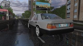 getlinkyoutube.com-City Car Driving1.5.2 Mercedes-Benz 300E W124 1990 TrackIR 4 Pro [1080P]