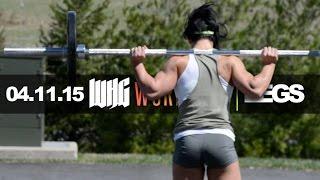 getlinkyoutube.com-LEG TRAINING & WOODS | THE WEEKEND | WHG WORKOUTS