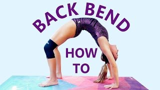Gymnastics At Home: Backbend Challenge! Flexibility Workout & Stretches, How to do a Back Bend!