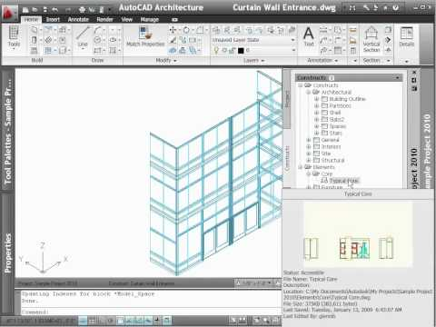 AutoCAD Architecture 2012 - Demo - Drawing Management