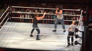 getlinkyoutube.com-Dean Ambrose vs Luke Harper WWE Jeddah (Entrances)