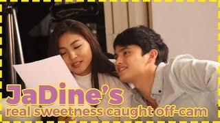 getlinkyoutube.com-[EXCLUSIVE] Real sweetness ng JaDine, caught off-cam!