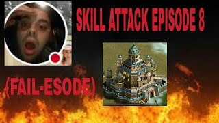 getlinkyoutube.com-10 skill attacks on fully reinforced 26 with 7.9 million power ( epic self fail)!!