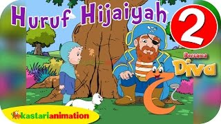 Huruf Hijaiyah bersama Diva (full version) | part 2 | - Kastari Animation Official