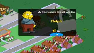 getlinkyoutube.com-The Simpsons Tapped Out Ralph Wiggum Turns Level 26 HD Live With Commentary Episode 14