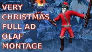 非常聖誕節的全AD歐拉夫精華