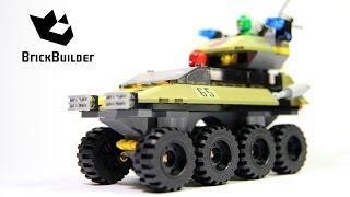 getlinkyoutube.com-Lego Super Heroes 76017 Captain America vs. Hydra - Lego Speed Build