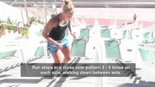 getlinkyoutube.com-High Intensity Stair Workout