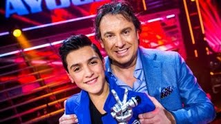 Top winner of the voice kids Holland