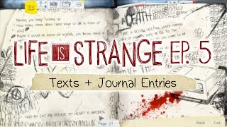 getlinkyoutube.com-Life is Strange [Episode 5: Polarized] Text Messages + Journal Entries