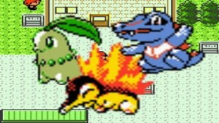 getlinkyoutube.com-How to find all three starters in Pokemon Crystal, Silver and Gold with one game