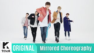 getlinkyoutube.com-[Mirrored] B.A.P(비에이피) _ Feel So Good Choreography(거울모드 안무영상)_1theK Dance Cover Contest