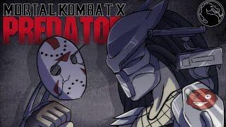 getlinkyoutube.com-Mortal Kombat X / CaRtOoNz vs H2O Delirious (Predator DLC!) (vs Jason)
