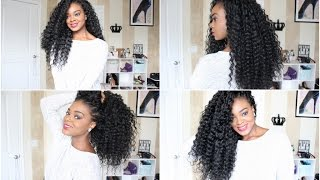 How To Do Crochet Braids | FreeTress Deep Twist