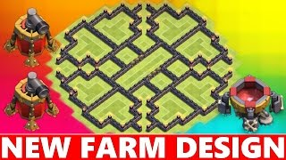 getlinkyoutube.com-Clash Of Clans | EPIC TOWN HALL 9 (TH9) FARMING BASE DEFENSE! NEVER SEEN BEFORE! 2015