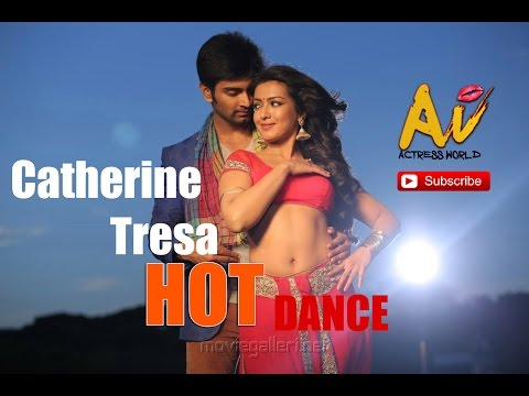 Catherine Tresa Hot Dance | Navel Show | Actress World