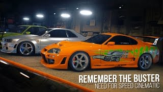 getlinkyoutube.com-Remember The Buster | Need for Speed Cinematic - Paul Walker Tribute