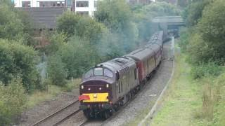 getlinkyoutube.com-The Cliffe Hopper - Last (?) Passenger train at Rugeley Power Station 7th October