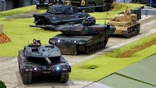 getlinkyoutube.com-RC TANKS AND MILITARY VEHICLES IN ACTION MILITÄRFAHRZEUGE UND PANZER / Faszination Modellbau 2014