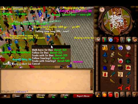 Niels Goes HAM on Runescape (Scamming On Runescape 2007 PT 2.)