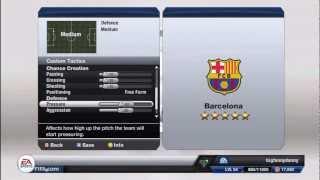 getlinkyoutube.com-FIFA 13 Custom Tactics | Possession