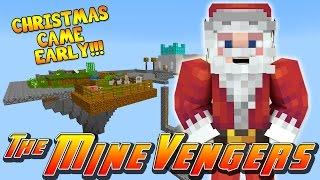 getlinkyoutube.com-Minecraft MineVengers - SANTA'S CHRISTMAS MIRACLE!!