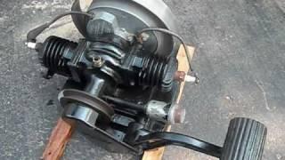 getlinkyoutube.com-Vintage Maytag Washing Machine Engine Starts!