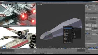 getlinkyoutube.com-初心者向けBlender講座 X-wingをモデリングしてみよう