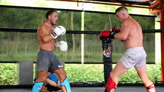 Technical Kickboxing Sparring