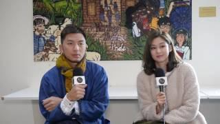 Benjamin Yuen (袁偉豪) and Eliza Sam (岑麗香) interview at TVB Australia Carnival