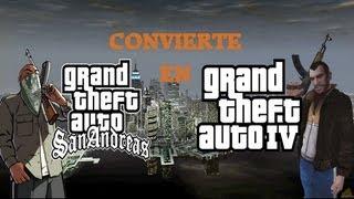 getlinkyoutube.com-Convierte GTA san andreas en GTA IV bien explicado