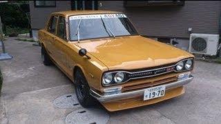 getlinkyoutube.com-ハコスカ復活計画ビフォーアフターその12【完結編】しかし問題発生 箱スカ GC10L型旧車