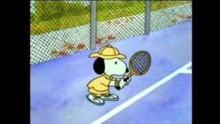 getlinkyoutube.com-snoopy playing tennis