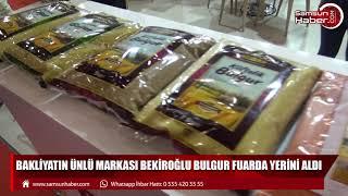 Bakliyatın ünlü markası Bekiroğlu Bulgur fuarda yerini aldı