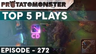 League of Legends Top 5 Plays Episode 272