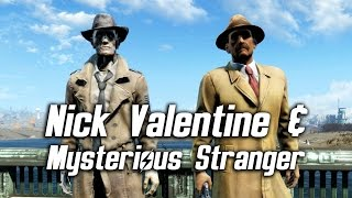 getlinkyoutube.com-Fallout 4 - Nick Valentine & the Mysterious Stranger