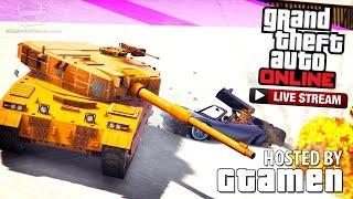 getlinkyoutube.com-GTA Online Sunday Stream (with Gtamen)