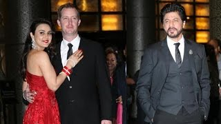 getlinkyoutube.com-Preity Zinta Wedding Reception 2016   Shahrukh Khan, Salman Khan, Shahid Kapoor
